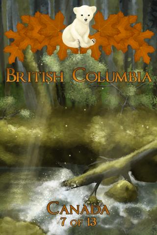 Geocaching Souvenirs:  British Columbia (1/3)