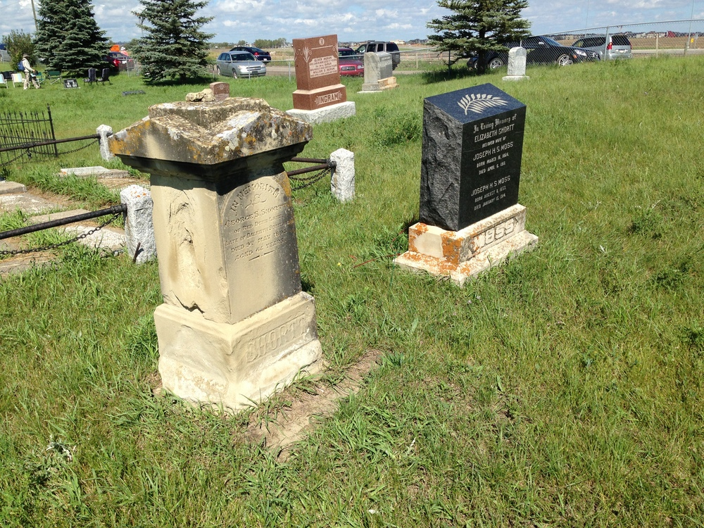 Historic Calgary Week:  Pine Creek Cemetery / De Winton (5/6)