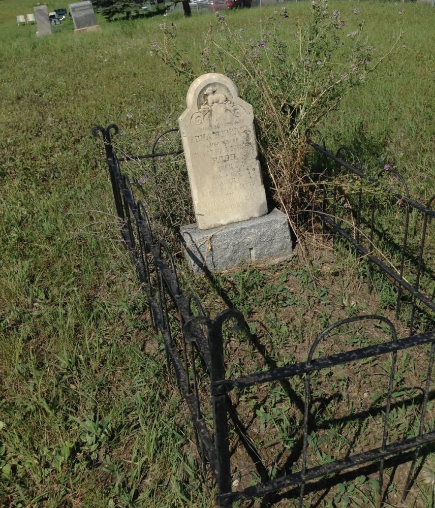 Historic Calgary Week:  Pine Creek Cemetery / De Winton (2/6)