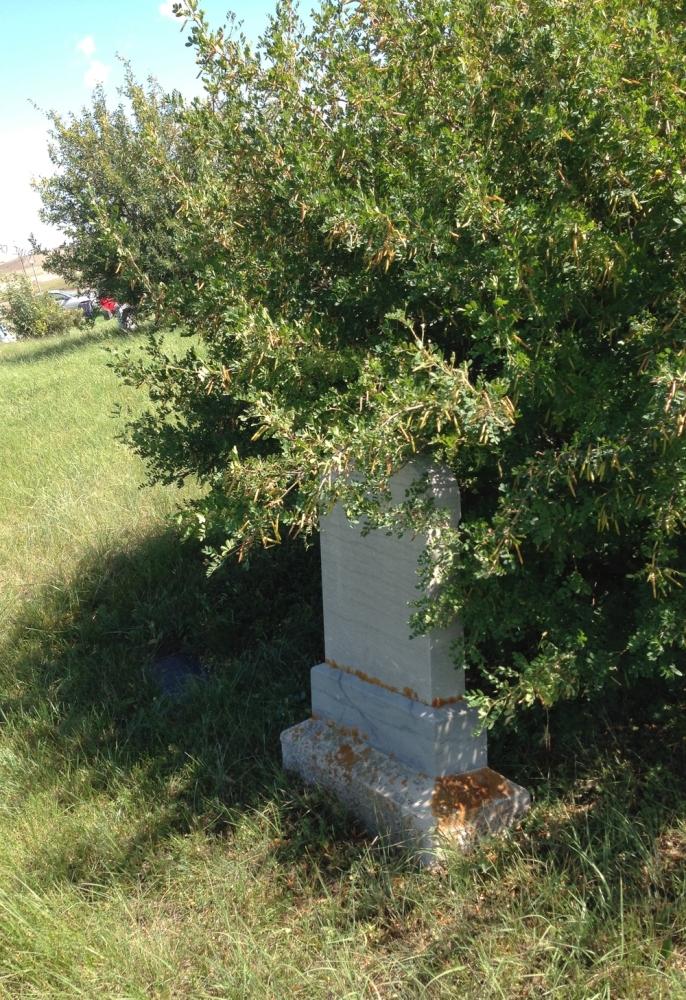 Historic Calgary Week:  Pine Creek Cemetery / De Winton (4/6)