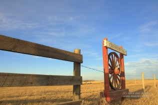Located NW of Nanton, you feel as if you are in the middle of the old west, not just a few hundred meters from a major four-lane highway.